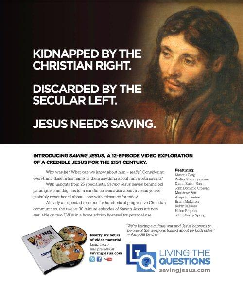 Saving Jesus Redux Ad