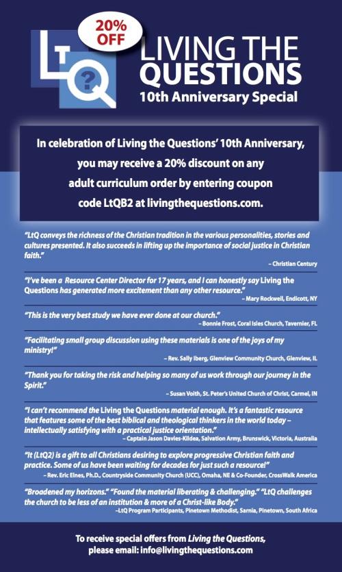 LtQ Catalog 20% off testimonial page 2015